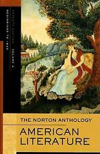 The Norton Anthology of American Literature, Vol. A: Beginnings to 1820 Wayne F