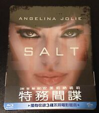 SALT Blu-Ray SteelBook Taiwan Exclusive. Extremely Limited to 800. New & Rare!