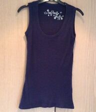 Miss Fiori Couture Navy Tank top size 10