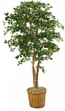 Olive Tree In Planter Indoor Home Office Artificial Plant Silk Tree Lifelike