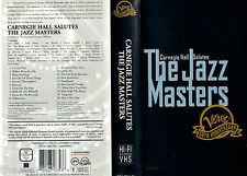 The Jazz Masters - Canergie Hall Salutes (0) -   VHS Polygram - english