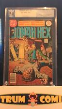 Jonah Hex #1 PGX 9.0 with white pages!  -  A DC staple @ 33% off Guide!