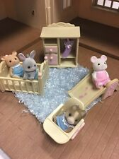 LOT Mouse 9 Deer Bunny Baby Nursery Dog Crib Calico Critters Ex Clothes Slide