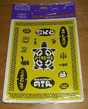 Hallmark Stickers Skateboard SK8 Extreme Ride Hard Rip It NIP Free Ship Over $15