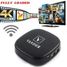 8GB Smart TV BOX MXR Android 4.4 WiFi XBMC Fully Loaded Quad-Core HD 1080P Black