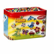 Hama Beads Perler Bucket Set 10,000 Beads Great Creative Kids Color Fun Toys