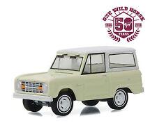 GREENLIGHT 1:64 50TH ANNIVERSARY EDITION 1966 FORD BRONCO DIECAST CAR 27890-B