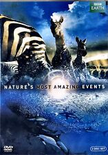 BBC EARTH  VIDEO //Nature's Most Amazing Events (NEW DVD) 5 HOURS/D ATTENBOROUGH