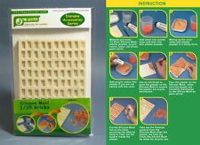 J's Work Silicone Mould for Making 1/35 Bricks