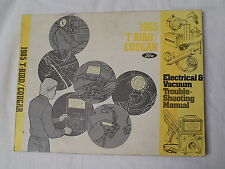 *FREE SHIPPING* 1985 Ford T-Bird/Cougar Electrical&Vacuum Troubleshooting Manual