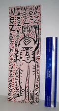 """LP16 (g) Great Outsider Art  GEVARO """" Multiple NEZ """" Artist Signed Painting"""