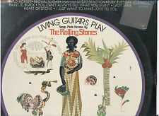 LIVING GUITARS PLAY SONGS BY ROLLING STONES RECORD LP ALBUM STILL SEALED USA