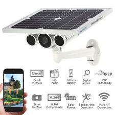 720P Solar Power Battery P2P Wireless Wifi Outdoor IP Camera Support 3G/4G SIM