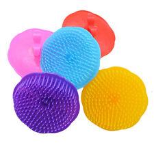 Silicone Shampoo Scalp Shower Body Washing Hair Massage Massager Brush Comb New