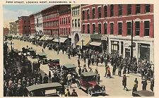 Ford Street Looking West in Ogdensburg NY Postcard