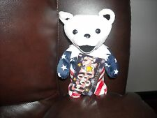 "GRATEFUL  DEAD BEAR ""FREEDOM"" NEW WITH ORIGINAL HANG TAG"