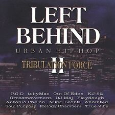 LEFT BEHIND II - URBAN HIP HOP RAP cd P.O.D. kj 52 ANOINTED Toby Mac NEW
