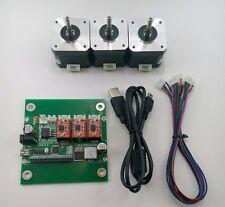 DIY 3-Axis CNC Machine Parts:Laser engraver/Grbl control board+3pc Stepper Motor