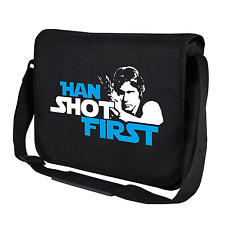 Han shot first | han solo | Star Wars sátira | bandolera | Messenger Bag