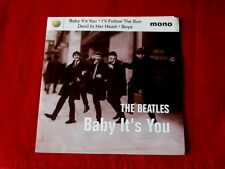 BEATLES~BABY IT'S YOU~ I'LL FOLLOW THE SUN~DEVIL IN HER HEART~BOYS~~ POP 45