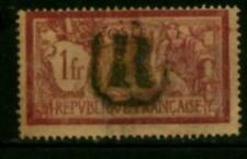 "France 1900-29  Stamp 1 fr Liberty and Peace Scott #125 CACHE ""R"""