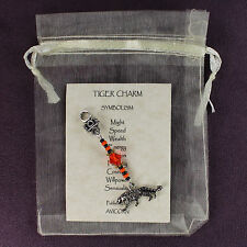 TIGER CHARM Totem Symbol Amulet Talisman Attraction Sign Wild Animal Magick Cat