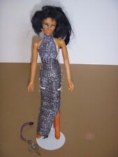 """Vintage GROWING HAIR CHER 12"""" DOLL, Mego, 1976, with Dress, Boots, and Key!"""