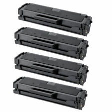 4-Pk/Pack Samsung MLT-D101S D101L Black Toner Cartridge ML2165W SCX 3405W SF760P