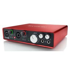 Focusrite Scarlett 6i6 2nd Gen 24/192KHZ USB Audio Interface - USED B2