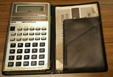 Vintage Casio FX-330 Scientific Calculator w/ Operation Manual(working order)