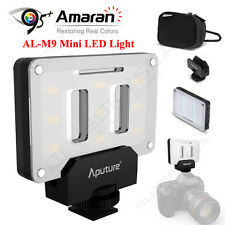 Aputure Amaran AL-M9 Mini LED Video Light CRI 95+ LED Light Panel Fill Lighting