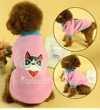 Pet Dog Clothes Warm Lovely Coat Apparel Warm Spring  Dog Pet Cat Puppy Clothes