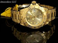 Invicta Men Pro Diver 24 Jewels Automatic 18K Gold Ionic Plated Stainless Steel