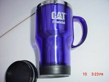 Licensed  Caterpillar  Logo  Stainless Mug Cup  With  Lid