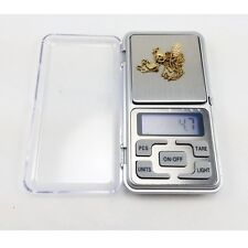 500g x 0.1g Digital Mini Pocket LCD Jewelry Weighing Electronic Kitchen Scale UK