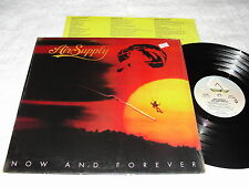 "Air Supply ""Now and Forever"" 1982 Rock LP,Nice EX!, Orig Arista Press, w/ shrink"