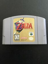 The Legend of Zelda: Ocarina of Time N64  Nintendo 64 1998 Grey Cartridge Tested
