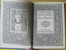 THE ROSE AND THE RING by W. M. Thackeray Vintage HARDBACK Book 1955 J M Dent