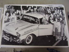 1957  CHEVROLET  36 MILLIONTH CHEVY  12 X 18  LARGE PICTURE  PHOTO