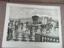 affiche ECOLE SCOLAIRE 1955/60 signée ALFRED CARLIER HISTOIRE CIVILISATION 4/22