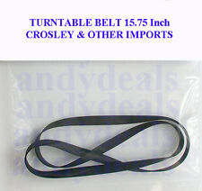 """CROSLEY & OTHER IMPORTS TURNTABLE DRIVE BELT 15 3/4"""""""