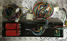Whelen UB412 Strobe Power Supply With Cables 9M 9U Edge 9000 Light Bar 4 Head
