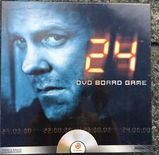 New SEALED 24 DVD Board Game TV Series Agent Jack Bauer 2+ Players Pressman