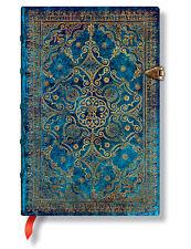 Paperblanks Notizbuch A6 9,5x14cm Equinoxe Azurblau MINI liniert Taschenbuch