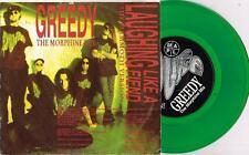 """PURE - GREEDY THE MORPHINE MIX - RARE 7"""" GREEN VINYL RECORD w PICT SLV - 1992"""