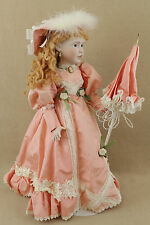 "23"" porcelain Victorian reproduction Kais doll by Josephine Knight w COA L.E."