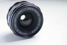 ASAHI SUPER-TAKUMAR 1:3.5 35MM LENS M42 SCREW MOUNT