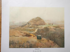 Golf Course Print TROON Facsimile Of Original1910 Painting