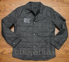 NWT! $225 TAHARI Quilted Insulated Jacket-Men's M-Charcoal-Nice, Warm!