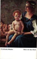 María con el niño, artistas mapa para 1910/20
